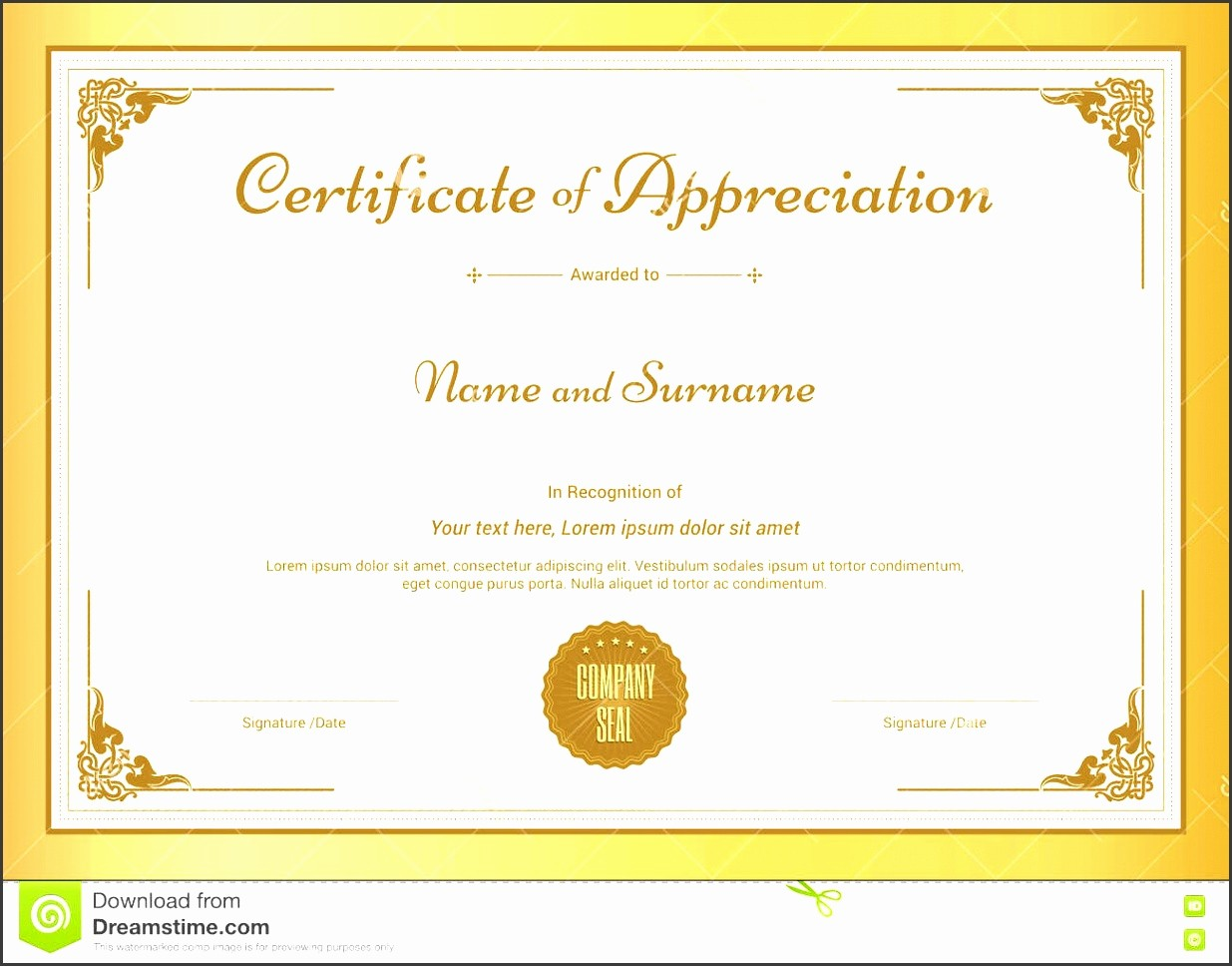 Free Download Certificate Of Appreciation Lovely 7 Download Free Certificate Appreciation Template