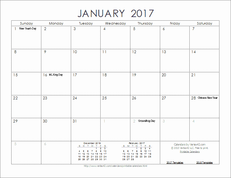 Free Download Of 2017 Calendar Best Of 2017 Calendar Templates and