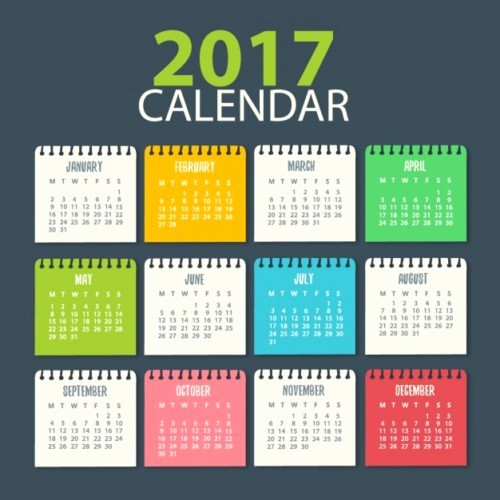 Free Download Of 2017 Calendar Best Of Calendarios Espectaculares 2017 Para Imprimir