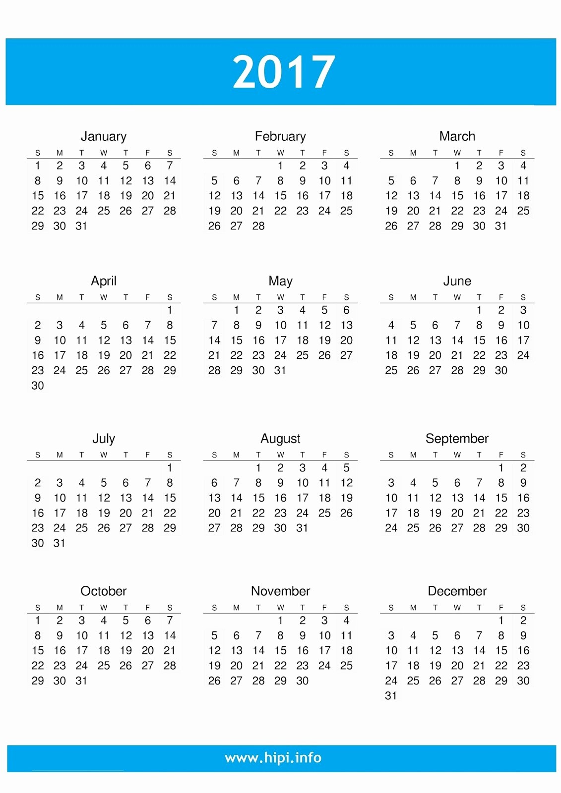 Free Download Of 2017 Calendar Inspirational Twitter Headers Covers Wallpapers Calendars