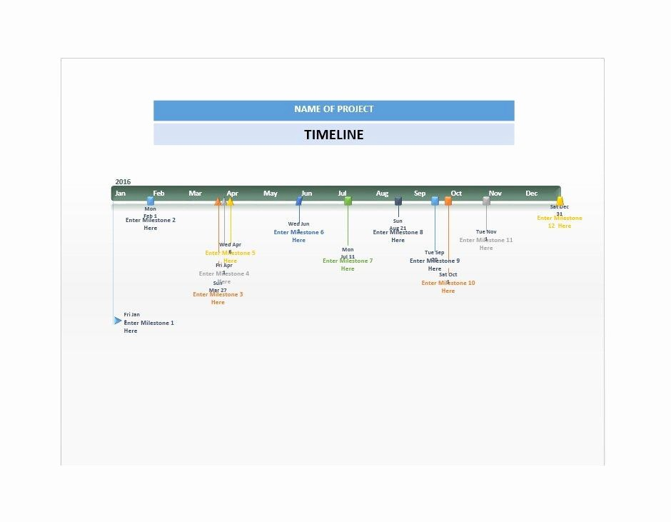Free Download Templates for Word Awesome 33 Free Timeline Templates Excel Power Point Word