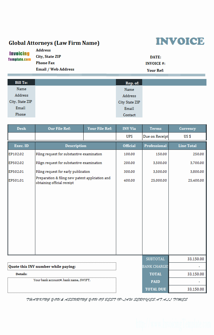 Free Download Templates for Word Best Of Microsoft Office Invoice Template Microsoft