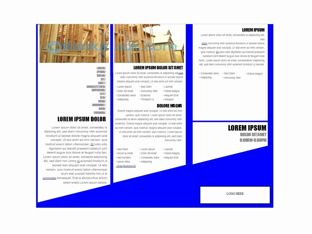 Free Download Templates for Word New 31 Free Brochure Templates Ms Word and Pdf Free