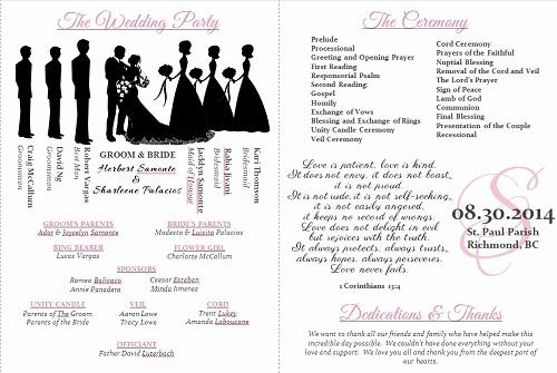 Free Download Wedding Program Template Beautiful Wedding Program Templates