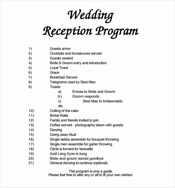 Free Download Wedding Program Template Inspirational 67 Wedding Program Template Free Word Pdf Psd