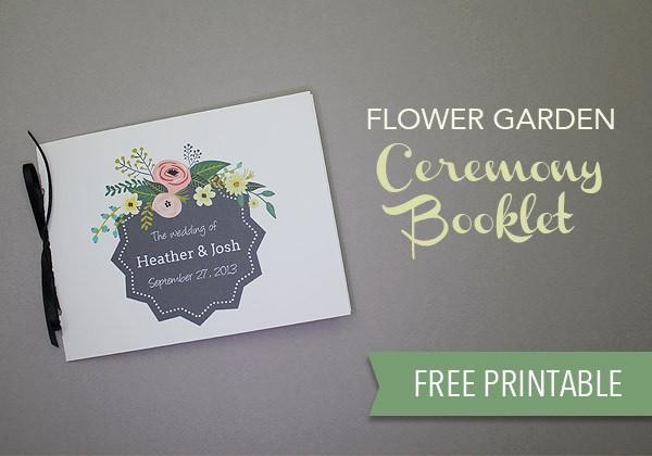 Free Download Wedding Program Template Inspirational Free Wedding Program Template Download & Print