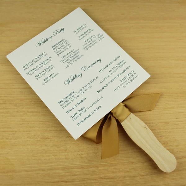 Free Download Wedding Program Template Inspirational Paddle Fan Wedding Program Template – Vintage Floral