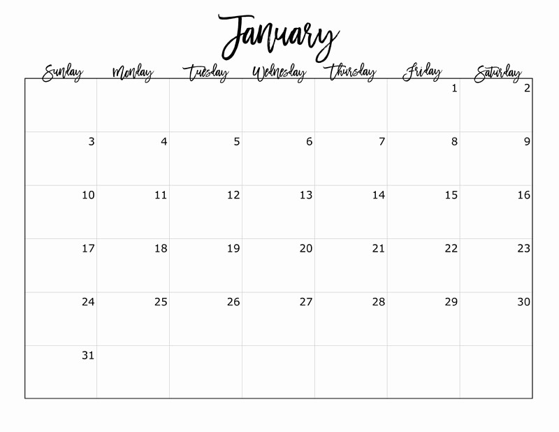 Free Downloadable 2016 Calendar Template Awesome Free 2016 Printable Calendar