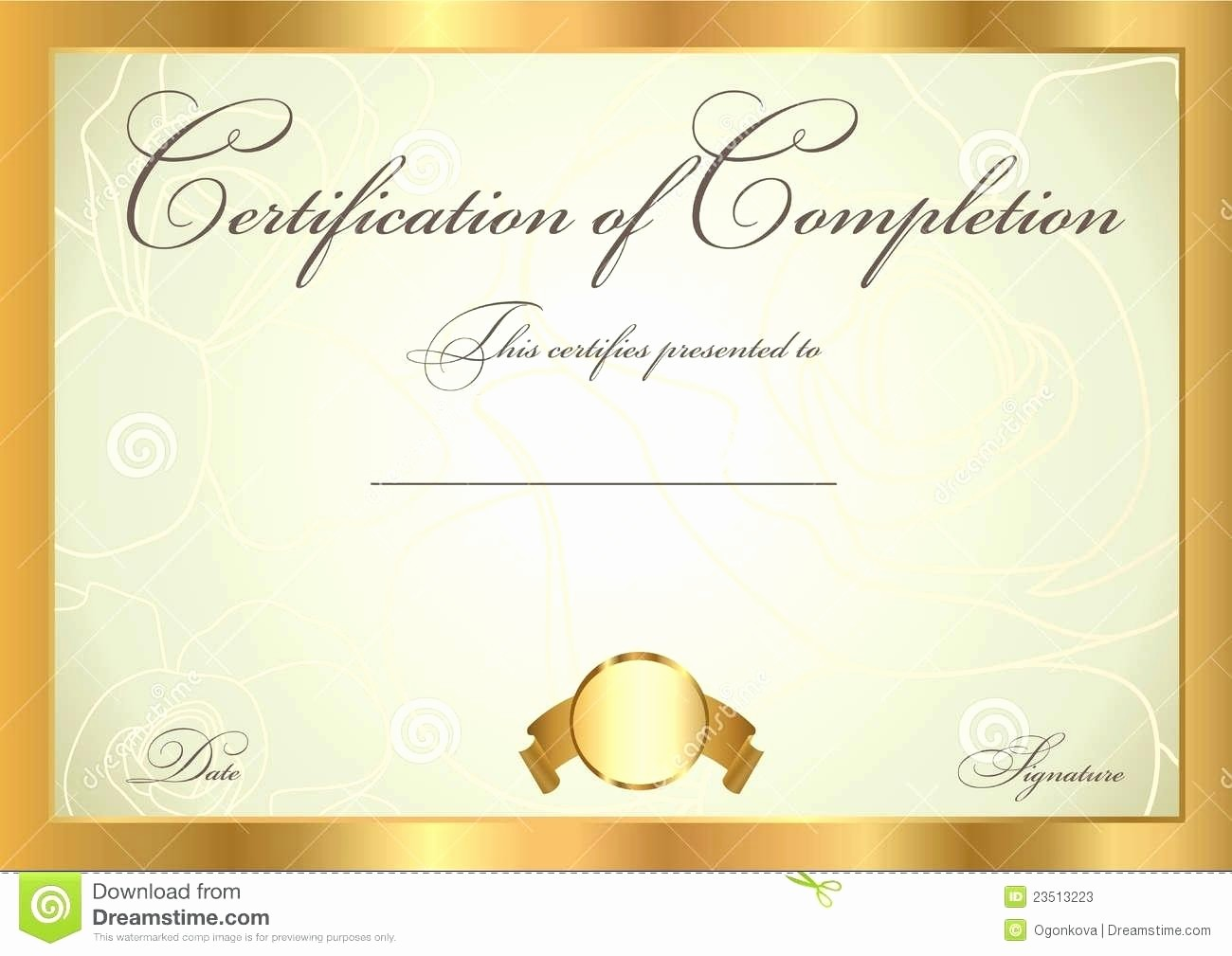 Free Downloadable Award Certificate Templates Beautiful Template Blank Award Certificate Template