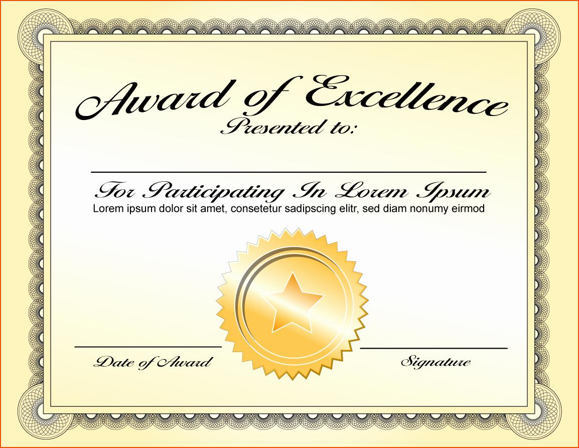 Free Downloadable Award Certificate Templates Best Of 8 Awards Certificate Template Bookletemplate