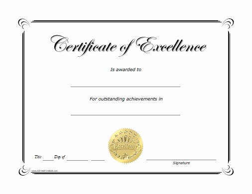 Free Downloadable Award Certificate Templates Inspirational Free Printable Award Certificates Video Search Engine at