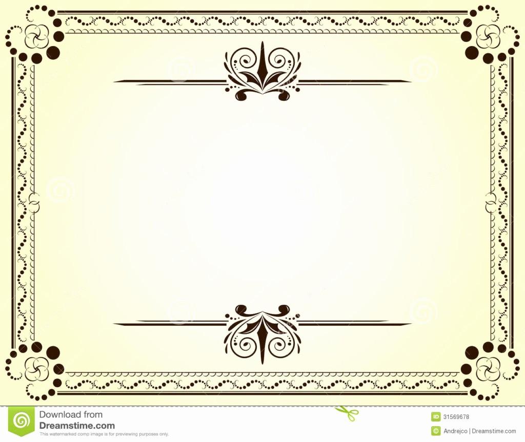 Free Downloadable Award Certificate Templates Luxury Blank Vector Printable Blank Certificates