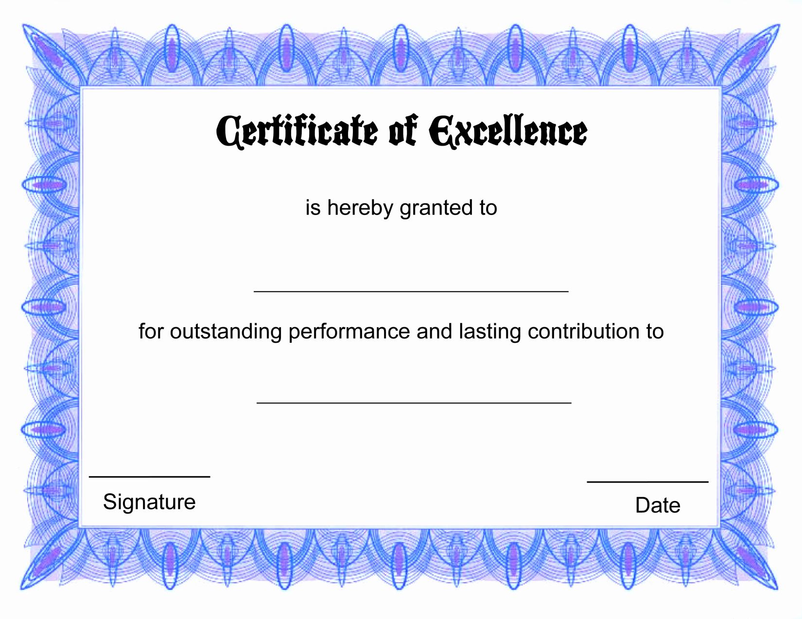 Free Downloadable Award Certificate Templates Luxury Printable Certificate Templates