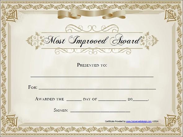 Free Downloadable Award Certificate Templates New Award Certificate Templates Free Invitation Template