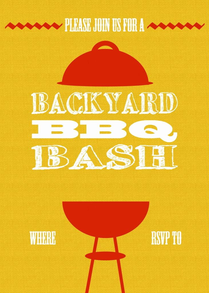 Free Downloadable Bbq Invitation Template Awesome 15 Bbq Invitations Free Printable Template Free