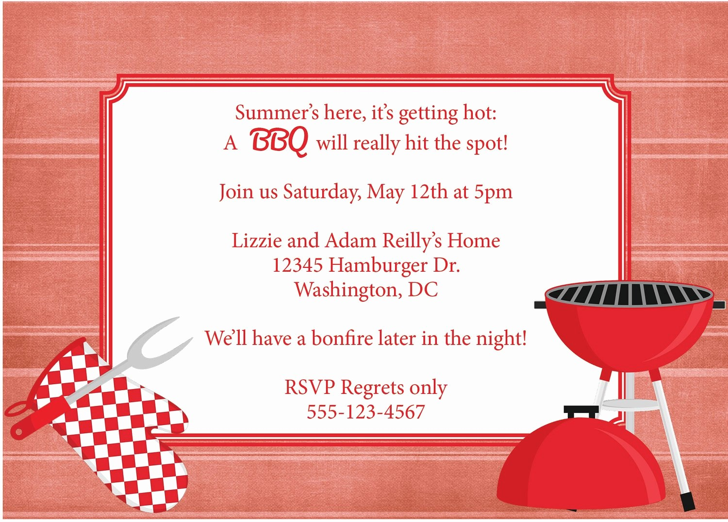 Free Downloadable Bbq Invitation Template Best Of Bbq Invitation Barbeque Invite Diy Printable by
