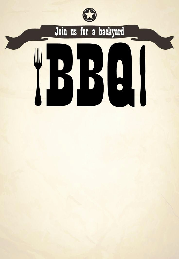 Free Downloadable Bbq Invitation Template Best Of Free Bbq Party Invitation Templates
