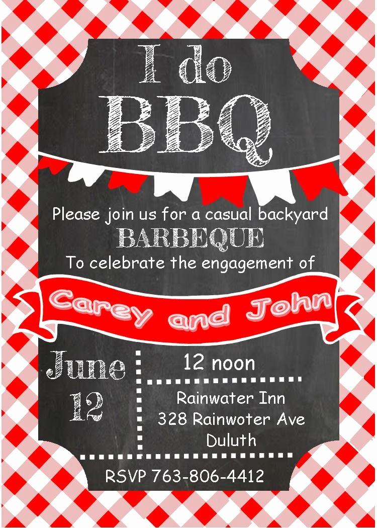Free Downloadable Bbq Invitation Template Fresh Barbecue Party Invitations Bbq Invitations New Selections