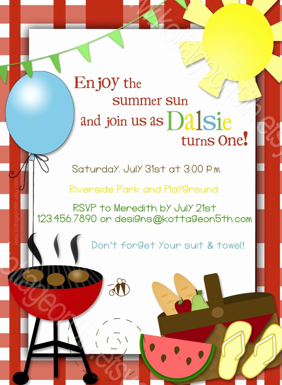 Free Downloadable Bbq Invitation Template Inspirational Bbq Birthday Party Invitations