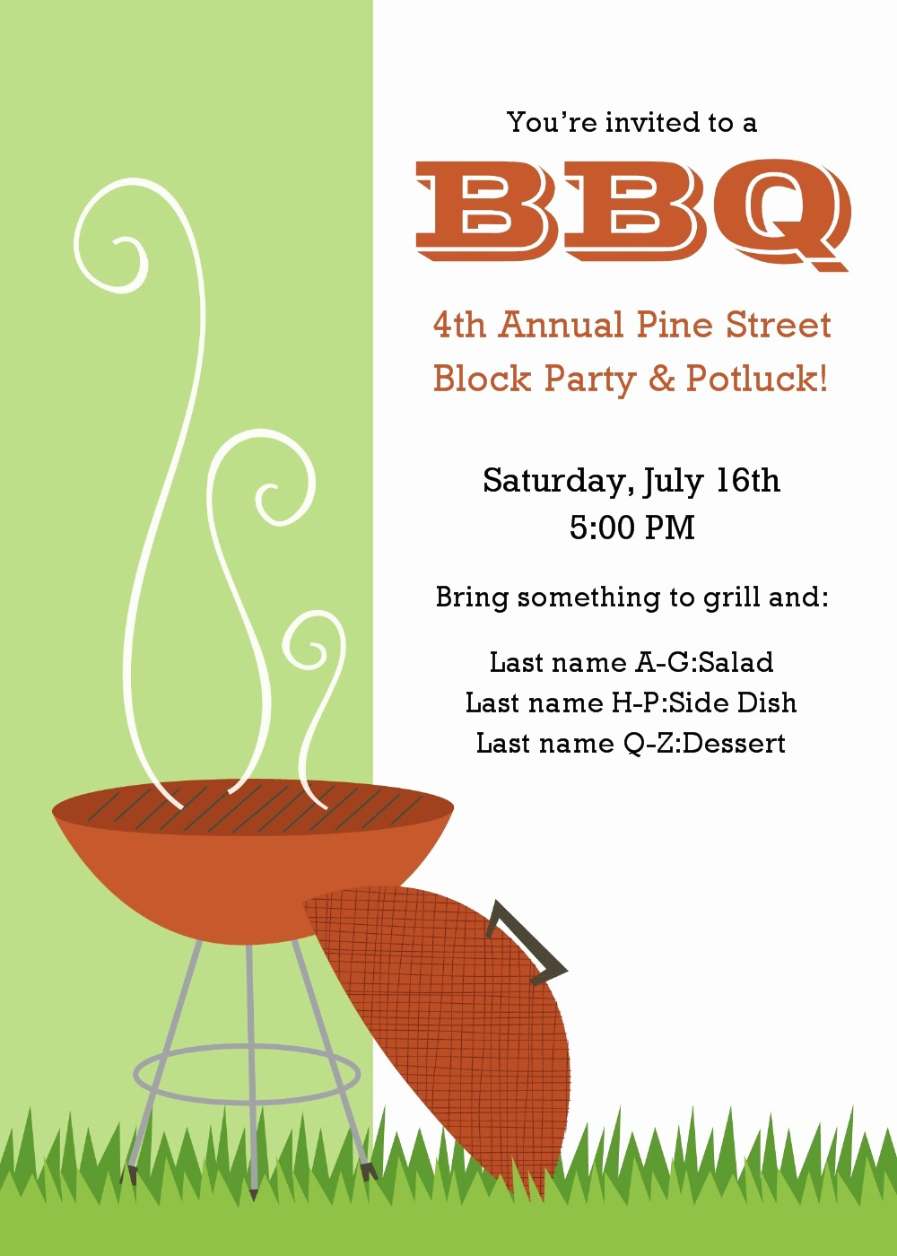 Free Downloadable Bbq Invitation Template Lovely 20 Free Barbeque Flyer Templates Demplates