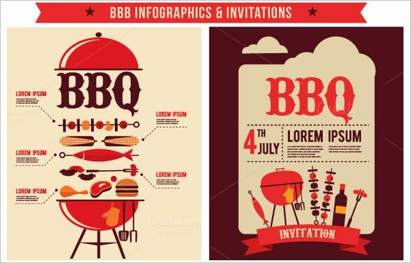 Free Downloadable Bbq Invitation Template Unique 50 Bbq Invitation Templates