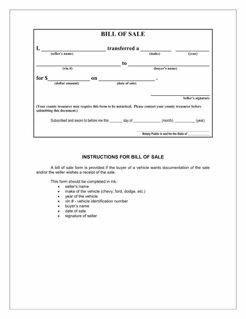 Free Downloadable Bill Of Sale Fresh Free Iowa Bill Of Sale form Download Pdf