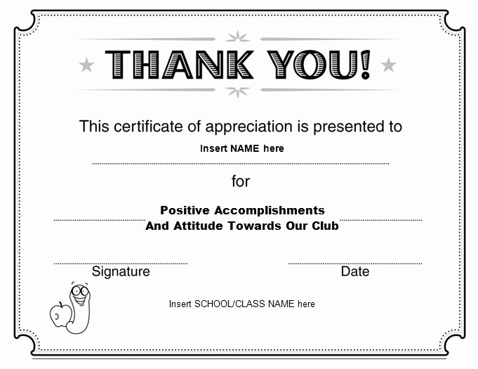 Free Downloadable Certificates Of Appreciation Elegant 30 Free Certificate Of Appreciation Templates and Letters