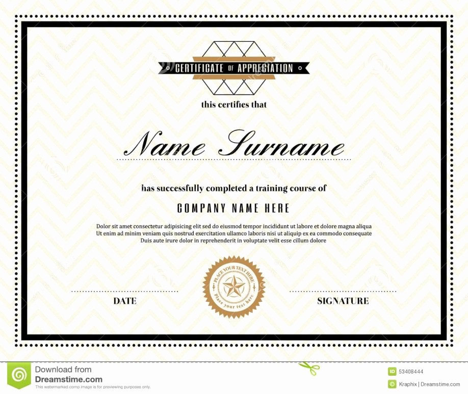 Free Downloadable Certificates Of Appreciation Unique Printable Certificate Appreciation Letter Examples