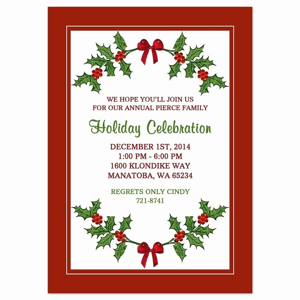 Free Downloadable Christmas Invitation Templates Fresh Christmas Party Invite Border