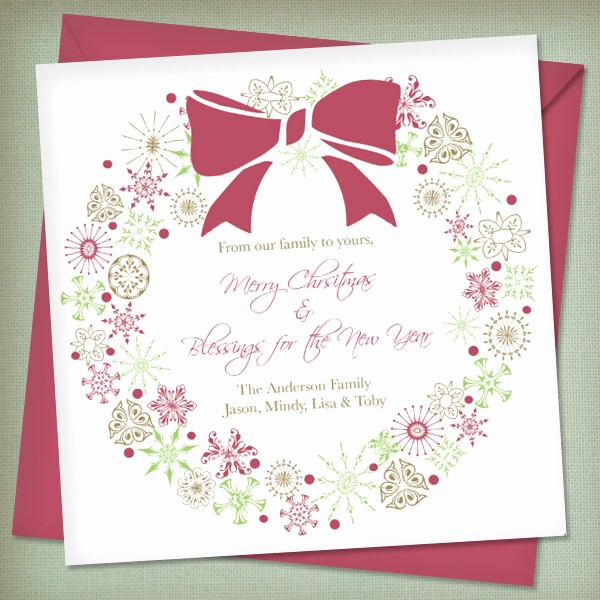 Free Downloadable Christmas Invitation Templates Inspirational Christmas Invitation Templates with Wreath – Download & Print