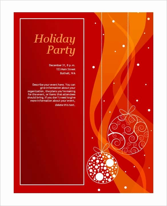 Free Downloadable Christmas Invitation Templates Luxury 69 Microsoft Invitation Templates Word