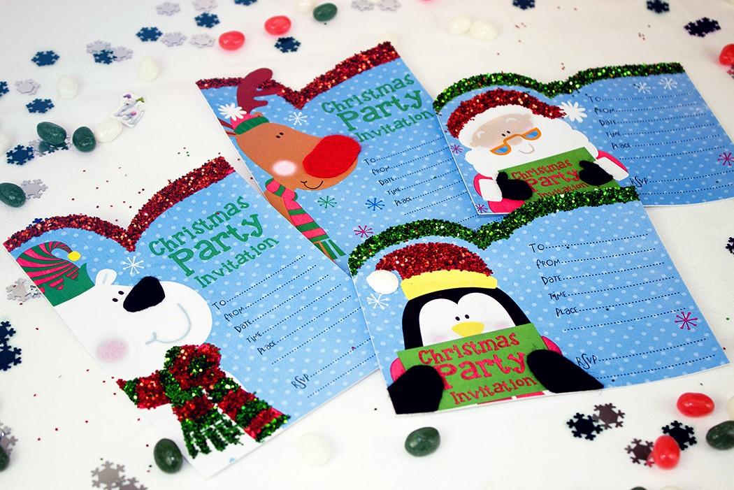 Free Downloadable Christmas Invitation Templates New Free Printable Christmas Invitation Templates