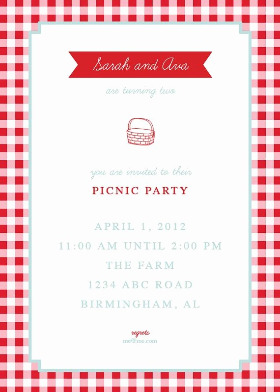 Free Downloadable Picnic Invitation Template Luxury 1000 Images About Picnic Invites On Pinterest