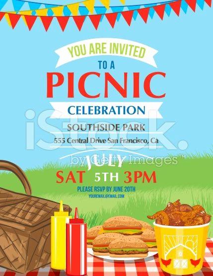 Free Downloadable Picnic Invitation Template Luxury Cartoon Summer Picnic Invitation Template Royalty Free