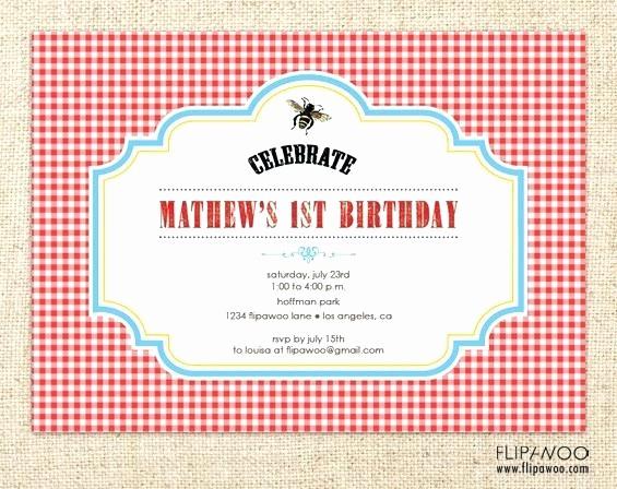 Free Downloadable Picnic Invitation Template New Free Picnic Invitation Template Fresh Invitations