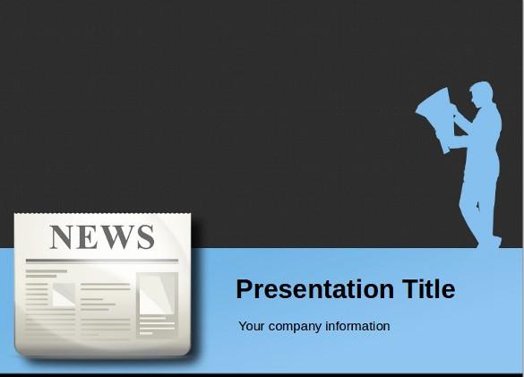 Free Downloadable Powerpoint Presentation Templates Awesome Powerpoint Newspaper Template – 21 Free Ppt Pptx Potx