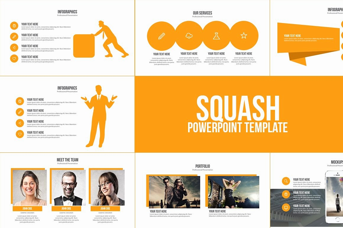 Free Downloadable Powerpoint Presentation Templates Awesome Squash Powerpoint Template Powerpoint Templates