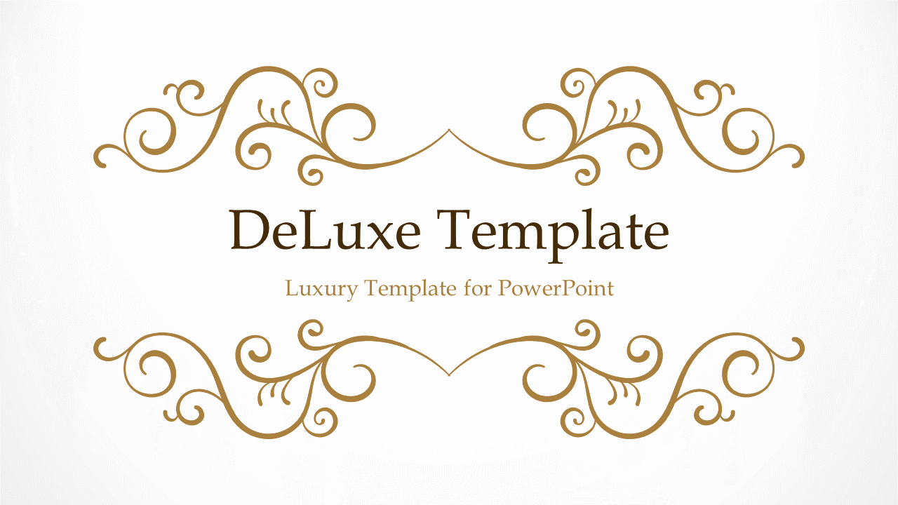 Free Downloadable Powerpoint Presentation Templates Luxury Deluxe Luxury Powerpoint Template