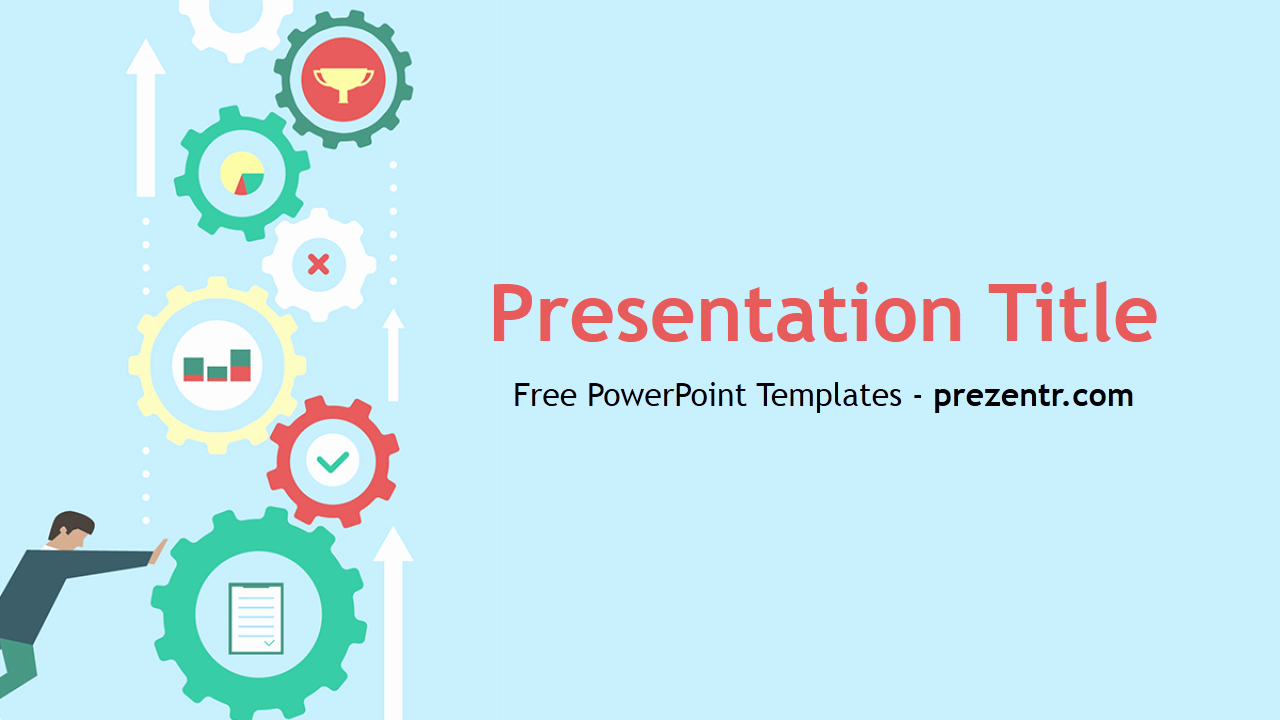 Free Downloadable Powerpoint Presentation Templates New Free Machine Learning Powerpoint Template Prezentr