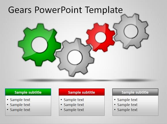 Free Downloadable Powerpoint Presentation Templates Unique Download Free Gears Powerpoint Templates for Presentations