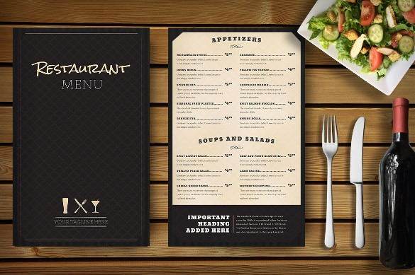 Free Downloadable Restaurant Menu Templates Elegant Restaurant Menu Template 33 Free Psd Eps Documents