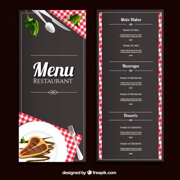 Free Downloadable Restaurant Menu Templates Inspirational 40 Restaurant Templates Suitable for Professional Business