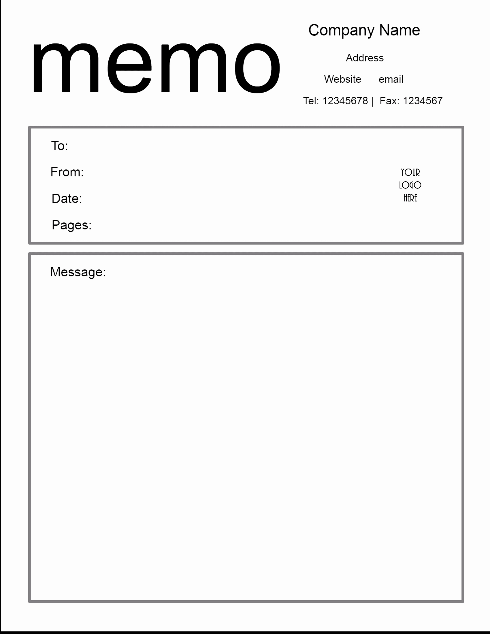 Free Downloadable Templates for Word Fresh Free Microsoft Word Memo Template