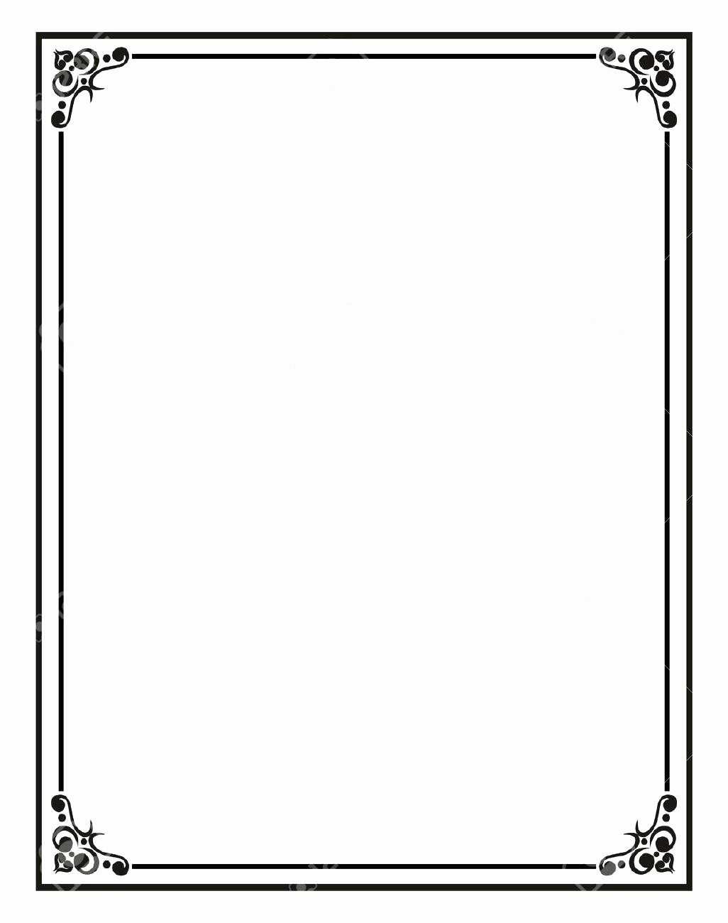 Free Downloadable Templates for Word Fresh Template Border Template for Word Documents