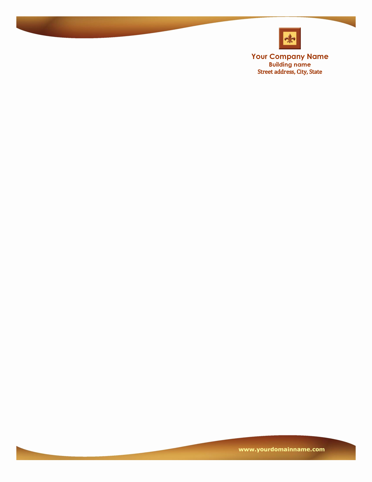 Free Downloadable Templates for Word New Letterhead Templates Free