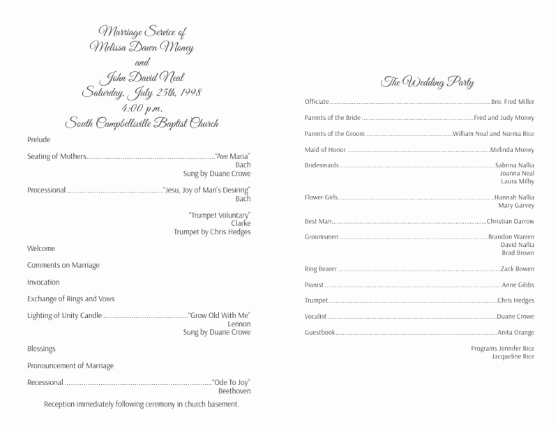 Free Downloadable Wedding Programs Templates Unique Wedding Program Templates Wedding Programs Fast
