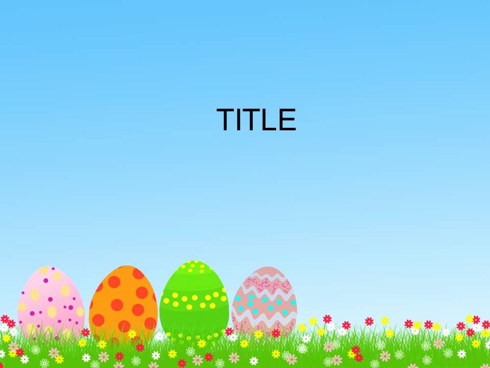 Free Easter Templates for Word Awesome Free Download Easter Powerpoint Templates Everything