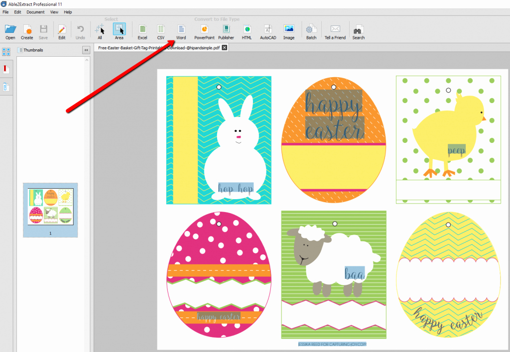 Free Easter Templates for Word Awesome How to Convert and Edit Free Printable Easter Pdf Templates