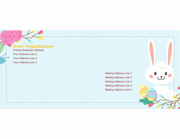 Free Easter Templates for Word Beautiful Easter Templates Microsoft Word 10 Free Easter Invitation