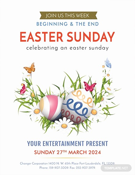 Free Easter Templates for Word Beautiful Free Fall Festival Flyer Template Download 416 Flyers In